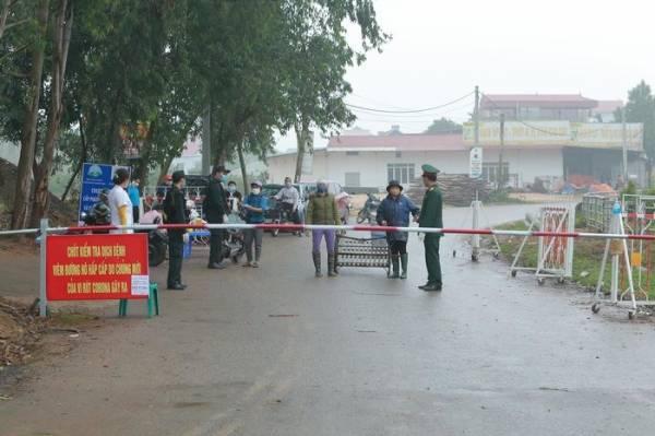 Tiến hành cách ly 13 trường hợp theo dõi tại nhà sau khi tiếp xúc với nam thanh niên trú tại xã Sơn Lôi (Bình Xuyên, Vĩnh Phúc)