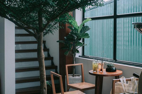 Không gian ấm cúng phù hợp cho ngày mưa